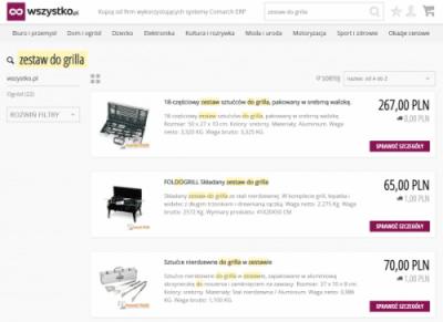 System E-commerce i B2B - platforma wszystkopl