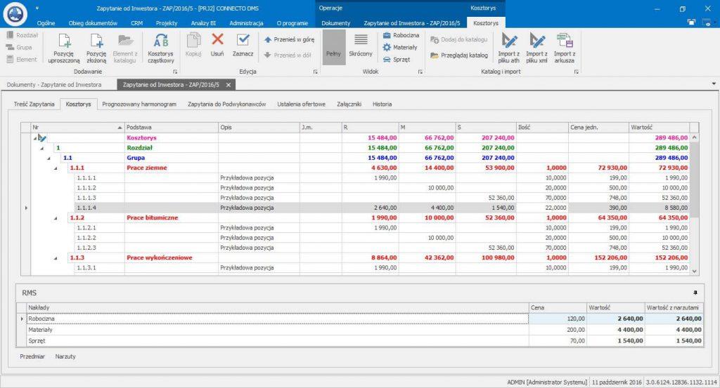 Program do kosztorysowania - tworzenie kosztorysów
