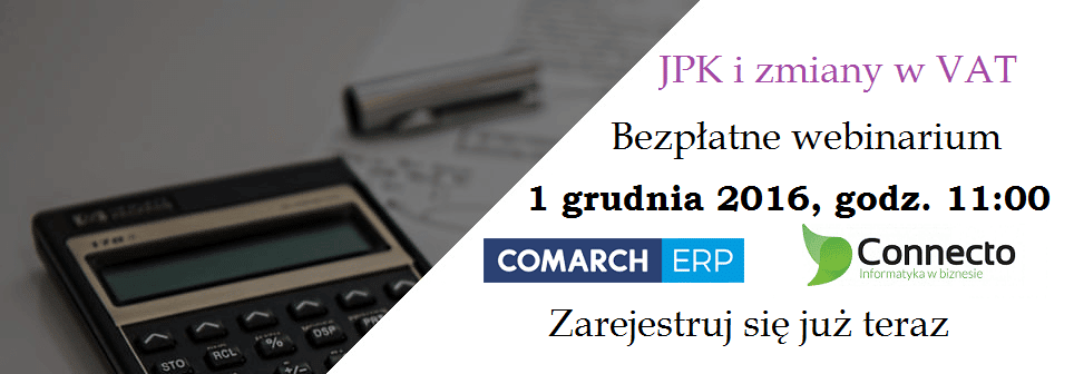 JPK i zmiany w podatkach VAT szkolenie online