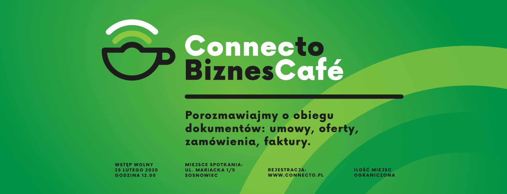 Connecto biznes cafe luty